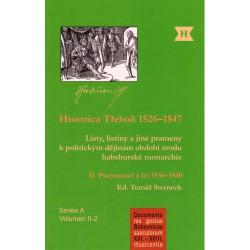 Historica Třeboň 1526–1547. II. Písemnosti z let 1536–1540