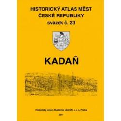 Historický atlas měst České republiky. Sv. 23. Kadaň