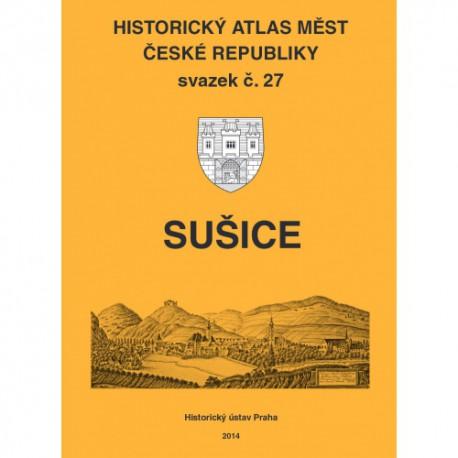 Historický atlas měst České republiky. Sv. 27. Sušice