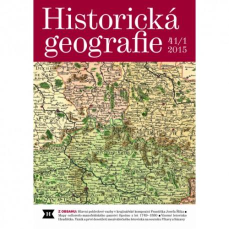 Historická geografie 41/1