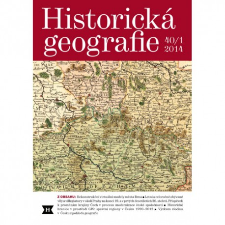 Historická geografie 40/1