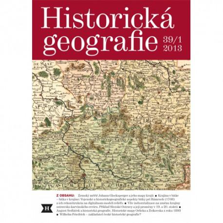 Historická geografie 39/1
