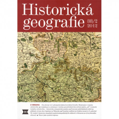 Historická geografie 38/2