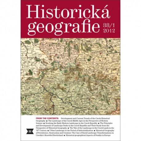 Historická geografie 38/1