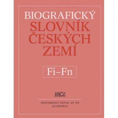 Biografický slovník českých zemí. Sešit 17 (Fi–Fin)