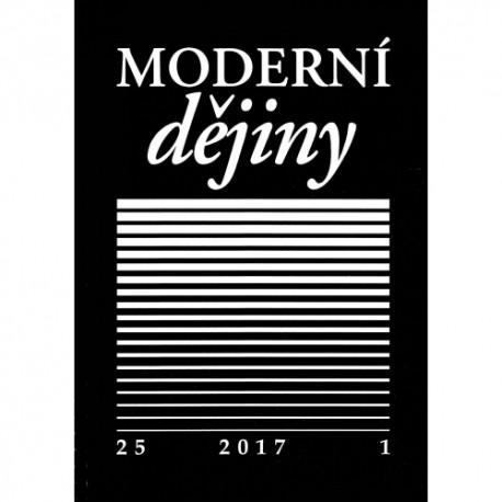Moderní dějiny. Časopis pro dějiny 19. a 20. století 25/1
