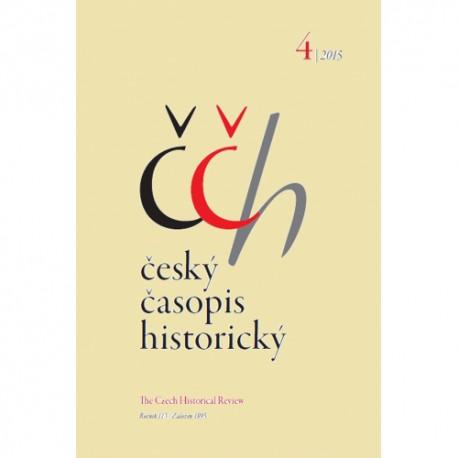 Český časopis historický 4/2015