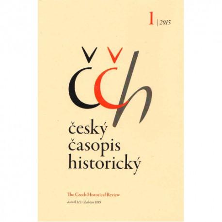 Český časopis historický 1/2015