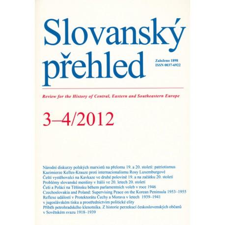 Slovanský přehled 3–4/2012