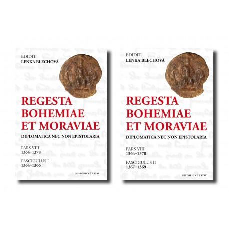 Regesta Bohemiae et Moraviae: Diplomatica nec non epistolaria. Pars VIII, 1364-1378. Fasciculus I + Fasciculus II