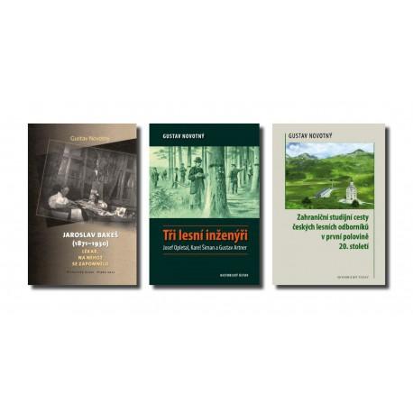 Gustav NOVOTNÝ: Lékař, na něhož se zapomnělo + Tři lesní inženýři + Zahraniční studijní cesty