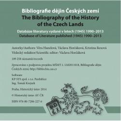Bibliografie dějin Českých zemí. Databáze literatury vydané v letech (1945) 1990–2013  (CD-ROM)