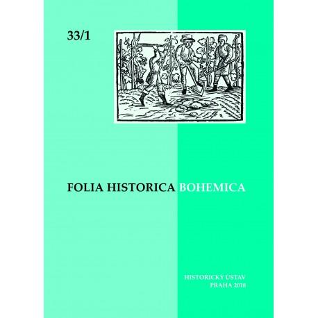 Folia Historica Bohemica 33/1