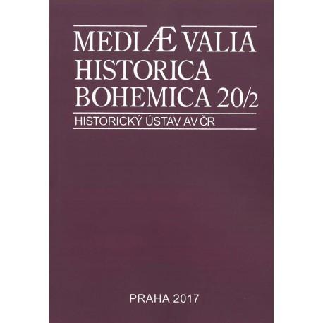 Mediaevalia Historica Bohemica 20/2
