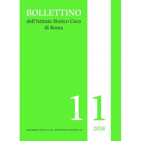 Bollettino dell´Istituto Storico Ceco di Roma 11