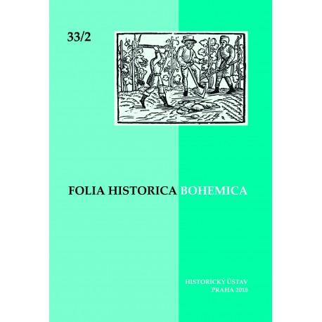Folia Historica Bohemica 33/2