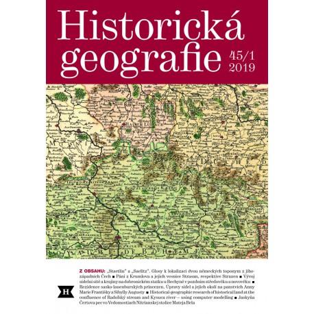 Historická geografie 45/1