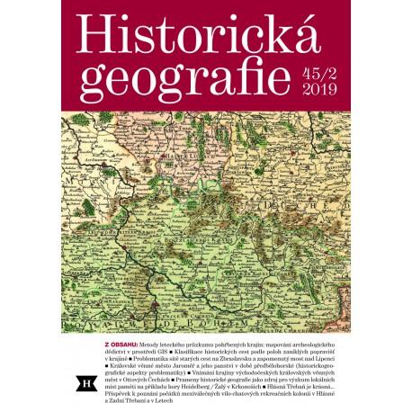 Historická geografie 45/2