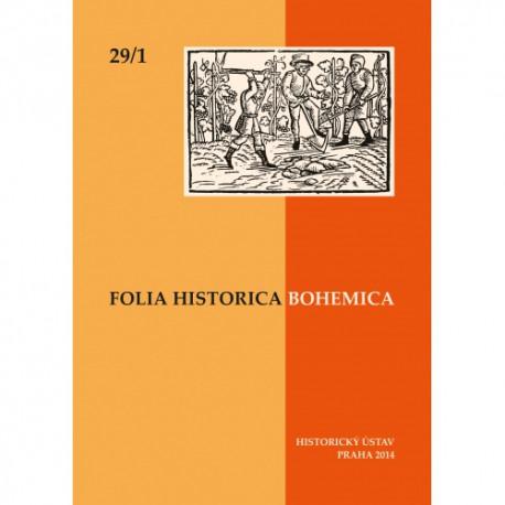 Folia Historica Bohemica 29/1