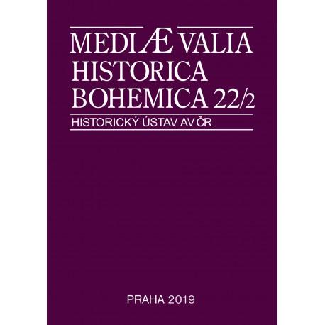 Mediaevalia Historica Bohemica 22/2