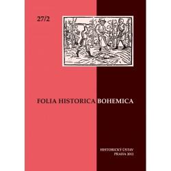 Folia Historica Bohemica 27/2