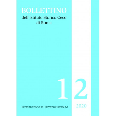 Bollettino dell'Istituto Storico Ceco di Roma, sv. 12