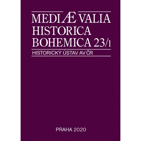 Mediaevalia Historica Bohemica 23/1