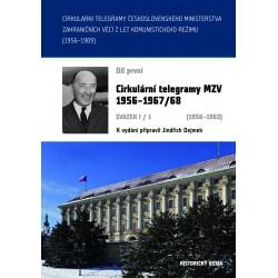 Cirkulární telegramy MZV 1956–1967/68, svazek I/1 (1956–1963)