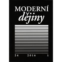 Moderní dějiny. Časopis pro dějiny 19. a 20. století 24/1