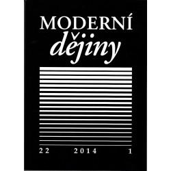 Moderní dějiny. Časopis pro dějiny 19. a 20. století 22/1