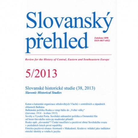 Slovanský přehled 5/2013