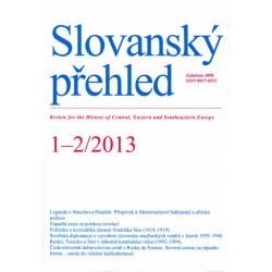 Slovanský přehled 1-2/2013