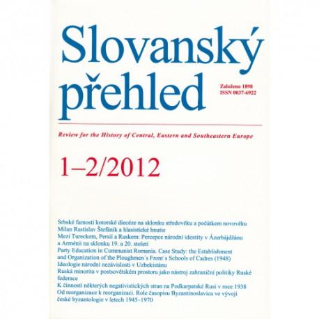 Slovanský přehled 1-2/2012