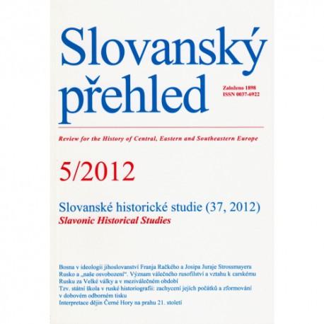Slovanský přehled 5/2012