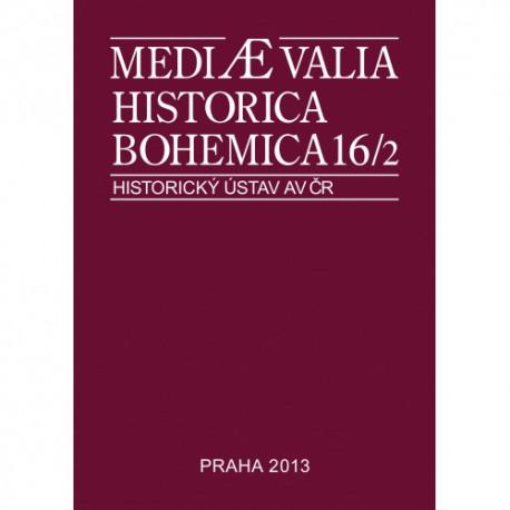 Mediaevalia historica bohemica 16/2